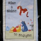 "$20.50 Cloth Book 7X10-""Rise & Shine"" 10 Pages-With Winnie The Pooh And Friends-Machine Washable"
