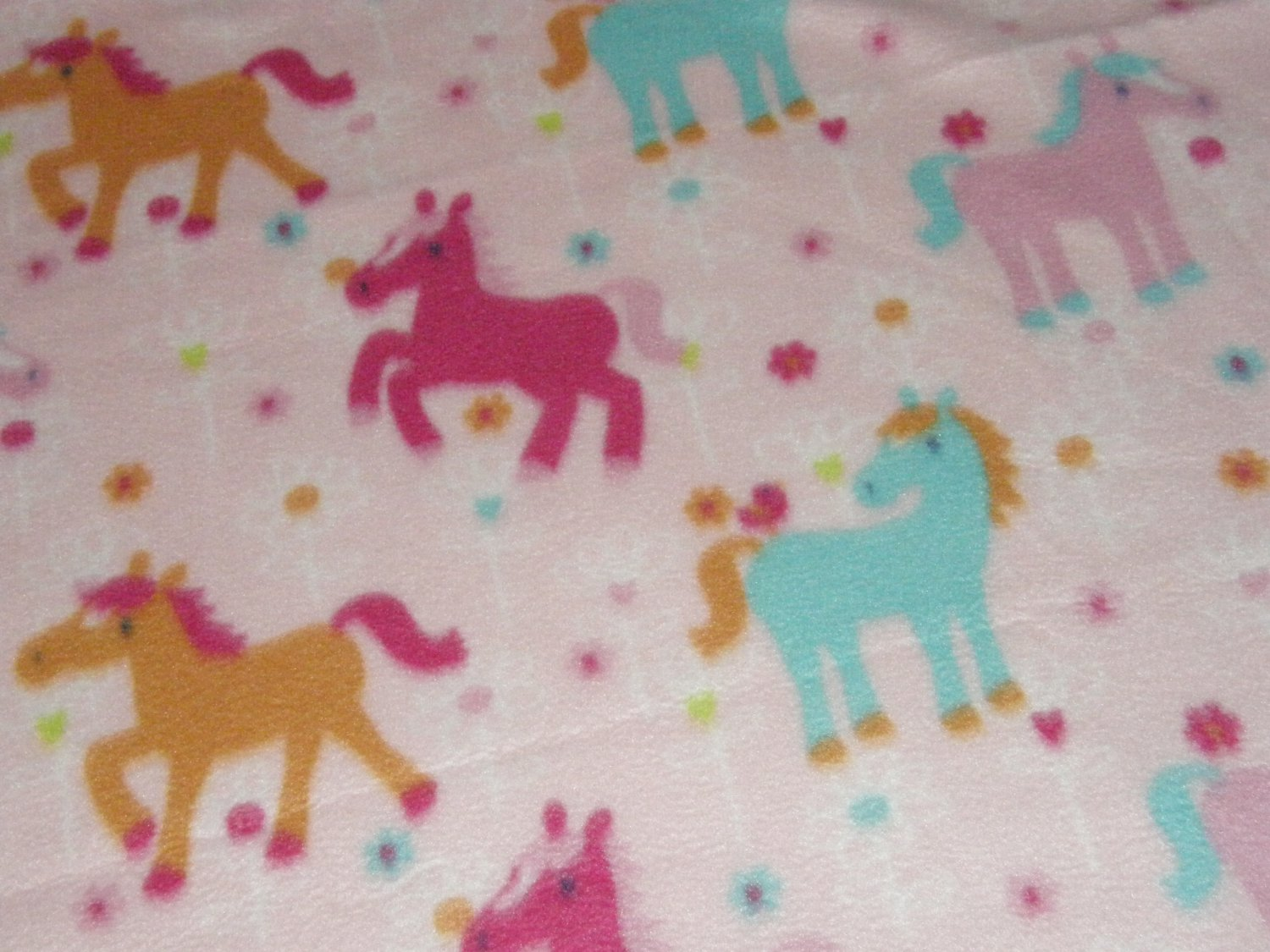 """$21.75  Antipill Fleece Throw 45"""" x 45""""  My Little Pony - and 14"""" X 14"""" Lovey For the Child to Hold"""