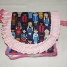 $40.00 Dolls Of Different Lands Shoulder Bag 10 x 10 inches