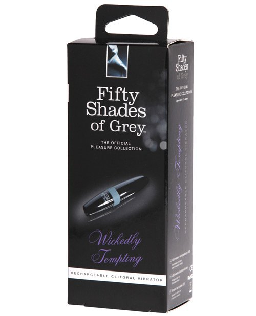 Fifty Shades of Grey Wickedly Tempting Rechargeable Clitoral Vibrator