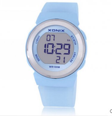 Xonix Women Sports Watch Digital WR100M Outdoor Multi Function Swim Diver Watch