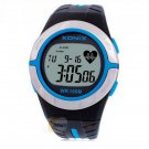 Xonix Heart Rate Monitor Calorie Watches Unisex WR100M LED light Outdoor Watch