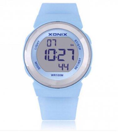 xonix Women Sports Watch Digital WR100M LED light Multifunction outdoor watch