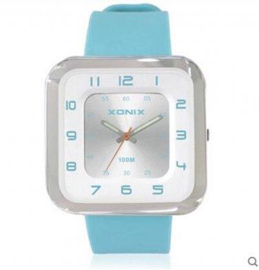 Xonix Women Girls Sports Watch Quartz Square Dial D Analog WR100m  Dress Watch