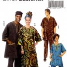 Butterick  5725 Tunic, Caftan Pants, Hat and Head -Wrap Men's Women's XL-XXXL