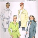 Butterick 4463 Fast and Easy Ladies Unline Jacket with Belt 8 10 12 14