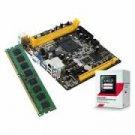 AMD AM1 Sempron Quad Core Starter Bundle with 2GB DDR3 Memory