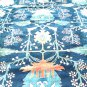 Oriental Rug Antique Mahal Solat Navy Blue Hand Woven Vege Dye High Pile 100% Wool16' x 21'