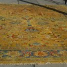 Agra India  Handmade  Oriental Rug  Floral All Over Design 100% Wool Palace Size 12' X 16'7''
