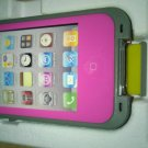 Pink Apple Iphone 4/4s Waterproof/Shock Proof Case