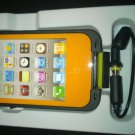 Orange Apple Iphone 4/4s Waterproof/Shock Proof Case