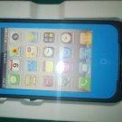 Sky Blue Apple Iphone 4/4s Waterproof/Shock Proof Case