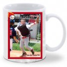 11oz Baseball Card Coffee Mug (White)