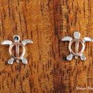 SE23706 Honu Post Earrings (S) Pink Gold