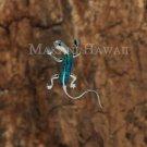 SOP1097 2 Opal Gecko Pendant (Chain Sold Separately)