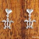 SE24701 Heart + Honu Earrings