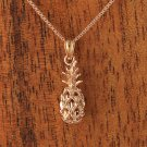 GP3120 Pink gold Pineapple Pendant(S) (Chain Sold Separately)