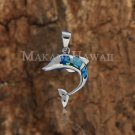 SOP1063 3 Opal Dolphin Pendant(S) (Chain Sold Separately)