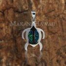 SOP1018 P/Honu Opal Pendant(M)(Chain Sold Separately)