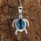 SOP1019 P/Honu Opal Pendant(L)(Chain Sold Separately)
