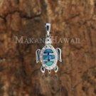 SOP1029 3 Opal Turtle Pendant(S)