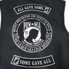 POW MIA PATCH SET ALL GAVE SOME SOME GAVE ALL 3 PC BACK PATCHES SET