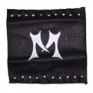 Motorcycle handle bars covers with name letter M