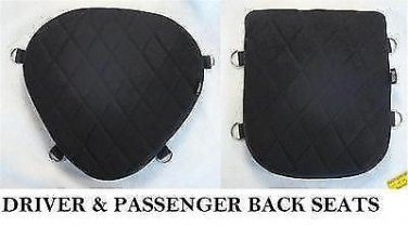 Seats gel pads set for harley softail night train FXSTB