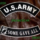 U.S. Army Some Gave All Military Patch Set Embroidered Patches Sew on Patches