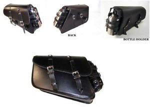 Motorcycle solo bag for harley sportster custom H-D 1