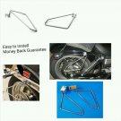 Motorcycle saddlebags Brackets For Suzuki Boulevard S83 (Intruder VS1400) Set