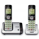 Home Phone 2 Cordless Handset VTech DECT 6.0 Caller ID Call Waiting Speakerphone