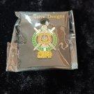 Omega Psi Phi Fraternity Lapel Pin Divine 9 Metal Lapel Pin Q-DOG