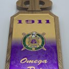 OMEGA PSI PHI FRATERNITY WOOD PADDLE WALL PLAQUE