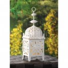 Gallery of Light White Medallion Candle Lantern