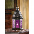 Clearance!! Mulberry Glass Moroccan Lantern