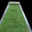 Free Shipping 3'X20' real moss runner preserved green fairy rustic garden church decor