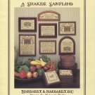 A Shaker Sampling Count Cross Stitch Booklet Used