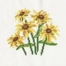 BLACK-EYED SUSANS Finished Stitchery Hand Made