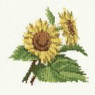 SUNFLOWERS Finished Completed Stitchery Hand Made