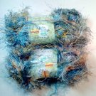 Haute Fur by Yarn Bee  2 Skeins of 3.5 oz. each  - Harbor Lights