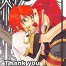 Thank You | Tales of the Abyss Doujinshi | Asch x Luke fon Fabre
