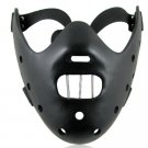Halloween Prom SILENCE OF THE LAMBS HANNIBAL Resin Mask BLACK
