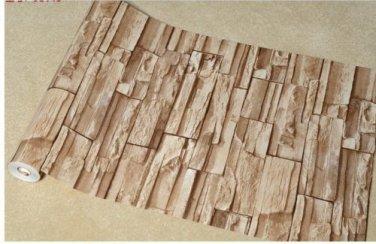 Wallpaper for Living Room Bedroom Imitation stone brick pattern 143