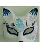 Japanese Style Painted Fox Mask crane