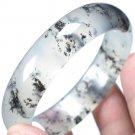 Master---Hand Sanding Women Quartzite Jade Ink Color Bracelet Natural