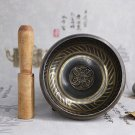 Master---Handmade 8cm Tibetan Meditation Yoga Singing Bowl Set