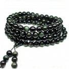 Master---Obsidian Bracelet Natural 108pcs Pray Beads Bracelet