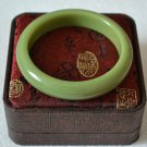 Master Hand Sanding Luminous Women Quartzite Jade Bracelet