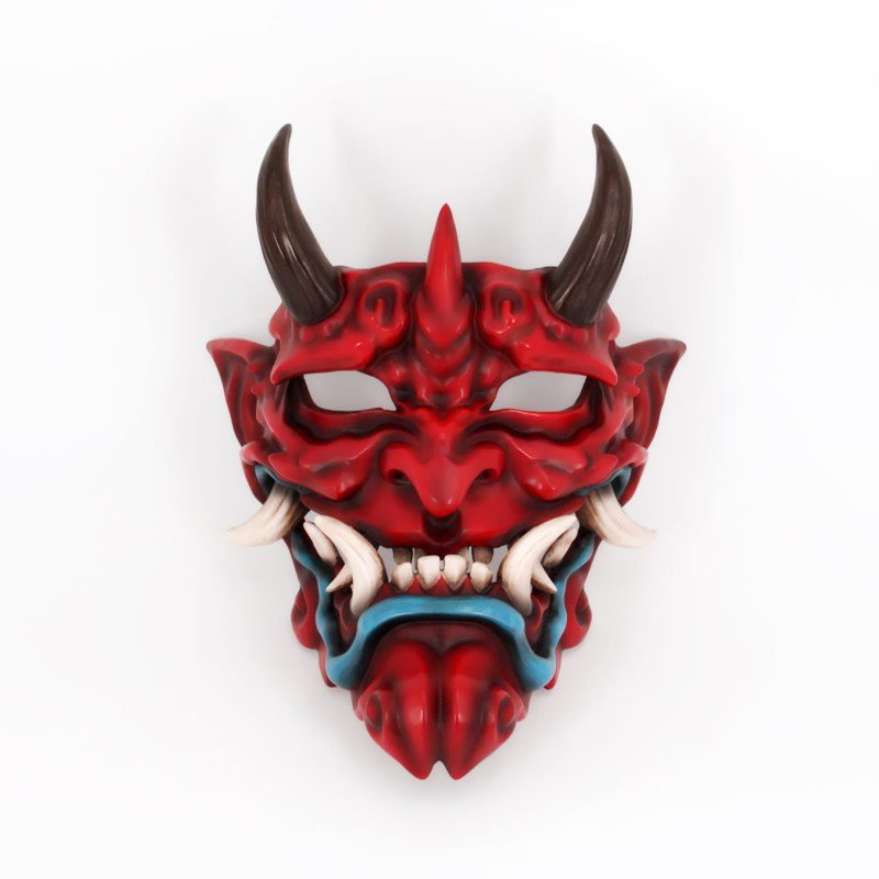 Master-- Handmade Resin Japanese Jimu Jimmy's face Demon face Devil's Head and COS Disguised